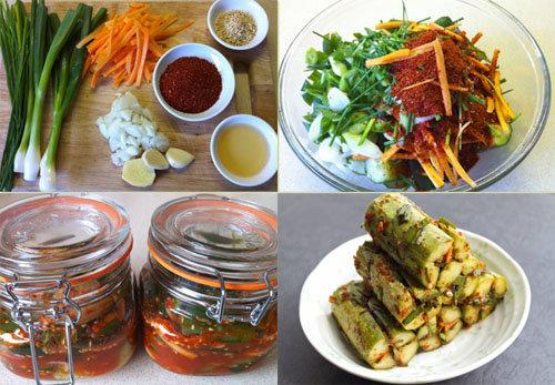 Рецепт соленых огурцов холодным способом аля Кимчи 2