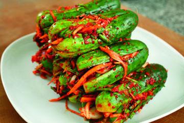 Рецепт соленых огурцов холодным способом аля Кимчи 4