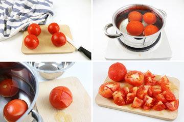 помидоры очистить