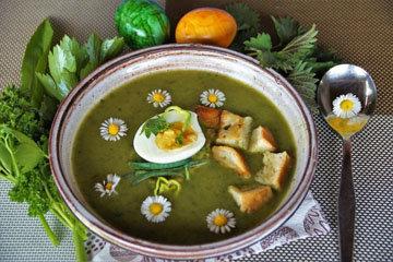 суп из Германии «Великий четверг»