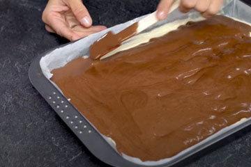 7a. намазать какао-тесто