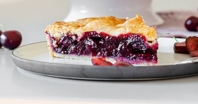 Вишневый пирог - нечто невероятное яркий вкус, яркий цвет, сладкая встреча с летом