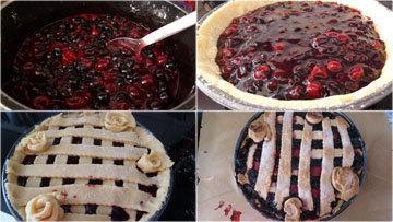 Мой вишневый пирог по мотивам рецепта из сериала Твин Пикс 3