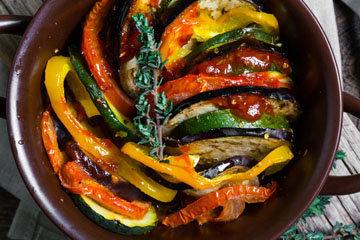 Рататуй - блюдо из провансальской кухни из тушеных овощей