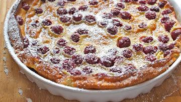 Французский вишневый пирог рецепт простой