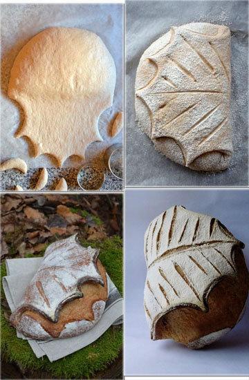 Хлеб с листом