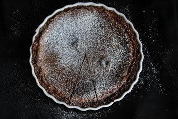 Шоколадный вкусный пирог