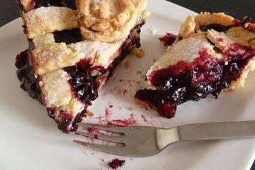 вишневый пирог по мотивам рецепта из сериала Твин Пикс