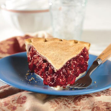кусочек хорошего вишневого пирога