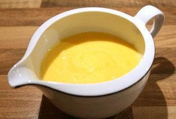 Домашний голландский соус с гхи