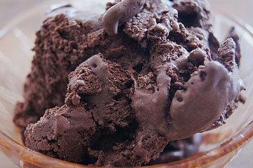 Как приготовить шоколадное домашнее мороженое с какао