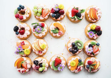 Рецепты выпечки с фруктами