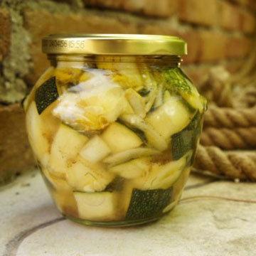 Рецепт маринованных кабачков на зиму