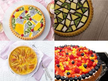печь пирог с фруктами 2