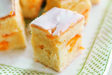 1. Абрикосовый пирог