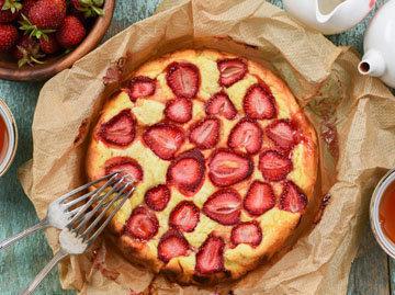 2. Французский пирог с ягодами