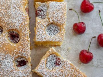 3. Венгерский пирог с фруктами и творогом
