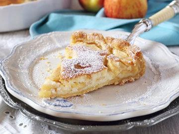 4. Итальянский пирог с фруктами из песочного теста