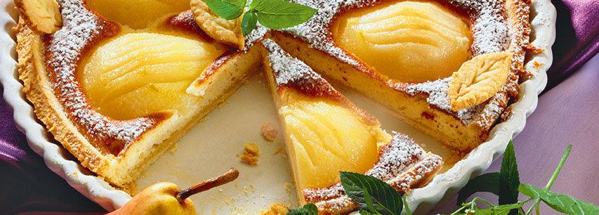 Slider Пирог с фруктами
