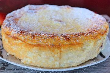 Рецепт рисовой запеканки с яблоками