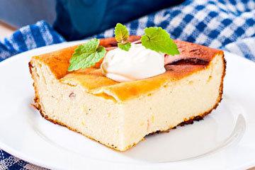 Творожная запеканка - это десерт