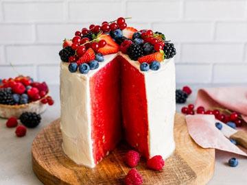 Торт арбузный