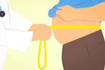 больной гипертонией страдает ожирением