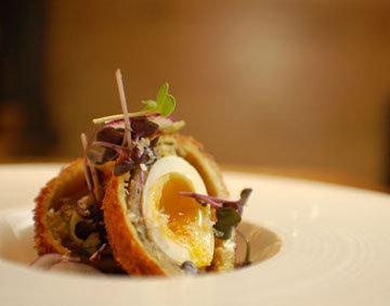 как готовить яйца по-шотландски с рыбой