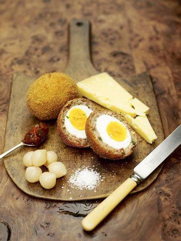 1. Яйца по-шотландски классический рецепт