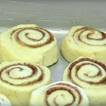 10a. Как сделать булочки с корицей