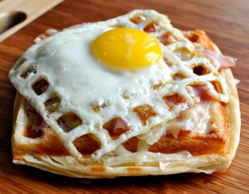 11d. Печь без духовки и жарить без сковороды яйца