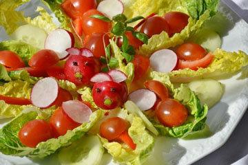 12. Быстро приготовить салат