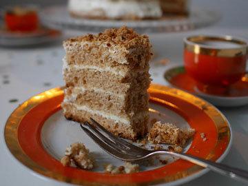3. Балтийский торт медовик рецепт без раскатки коржей