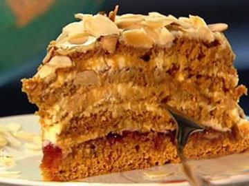 4. Вкусный торт медовик простой рецеп