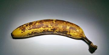 9. Перезревшие бананы не выбрасывать