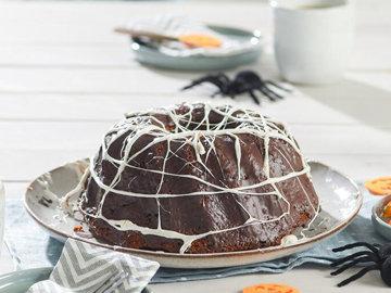 Тыквенно-шоколадный пирог