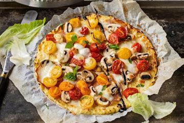 способ использования капусты для приготовления диетической пиццы