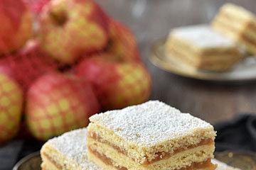 5. Двойной яблочный пирог
