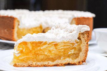 IIIa. Сочный яблочный пирог с песочным тестом