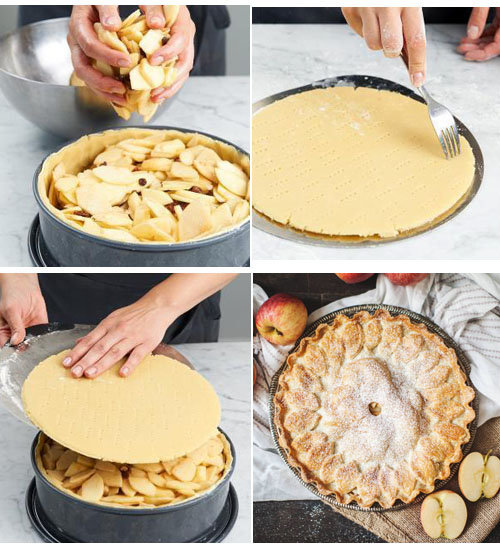 IIb. Простой рецепт яблочного пирога - тарт с миндальной начинкой
