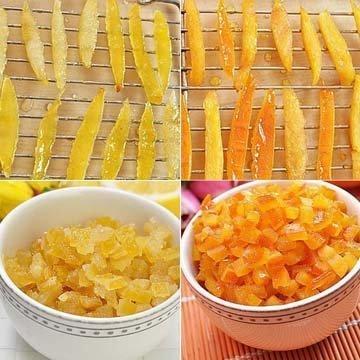 Как приготовить цитронат и оранжат самостоятельно 1
