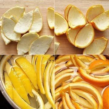 Как приготовить цитронат и оранжат самостоятельно 2