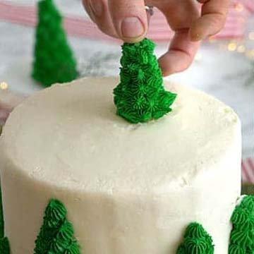 Кулинарный мастер класс торт на Новый год 11