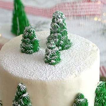 Кулинарный мастер класс торт на Новый год 12