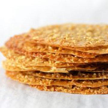Рецепт кружевного печенья с овсяными хлопьями 1