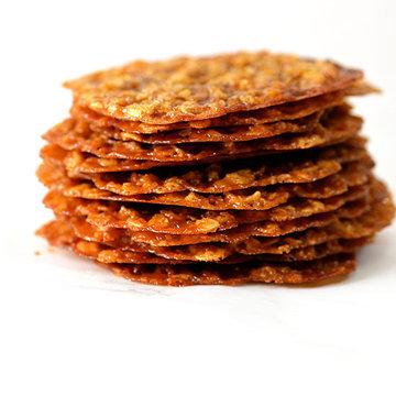 Рецепт кружевного печенья с овсяными хлопьями 2