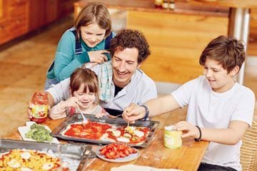 какая польза от готовки с ребенком