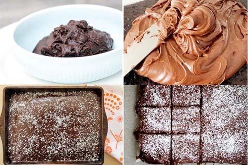 Skúffukaka - Исландский шоколадный пирог 2