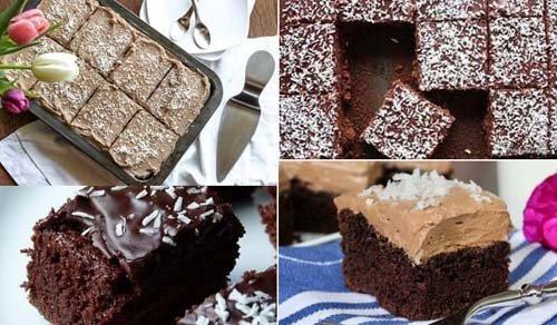Skúffukaka - Исландский шоколадный пирог 3