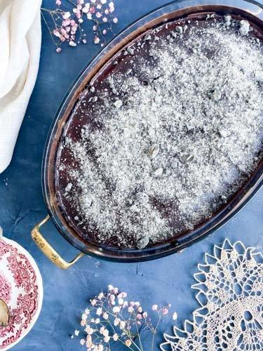 Skúffukaka - Исландский шоколадный пирог
